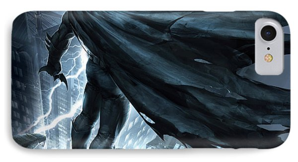 Batman The Dark Knight Returns 2012 IPhone Case by Caio Caldas