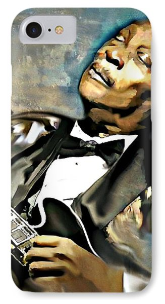 Bb King IPhone Case by Lynda Payton