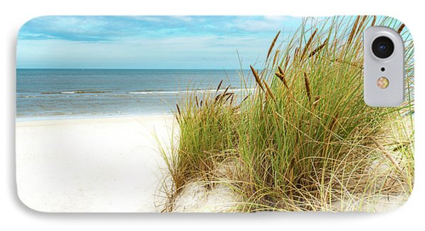 IPhone Case featuring the photograph Beach Grass by Hannes Cmarits