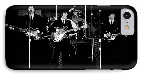 Beatles In Concert 1964 IPhone Case by Larry Mulvehill