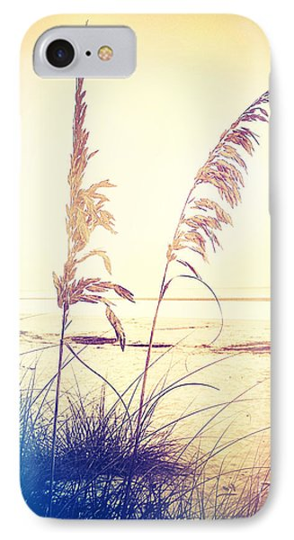 Before Day Sea Oats IPhone Case by Chris Andruskiewicz