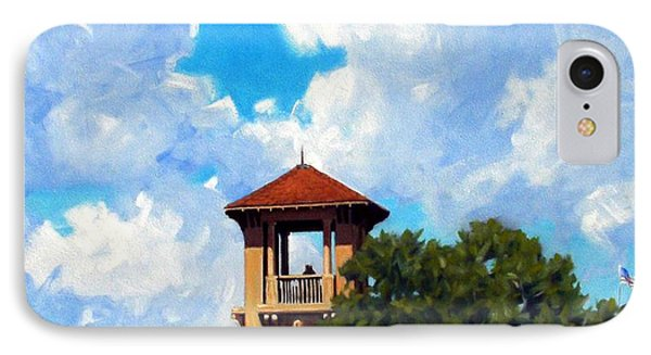 Bell Tower IPhone Case by Kevin Lawrence Leveque