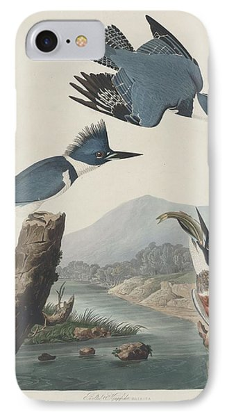 Belted Kingfisher IPhone Case by Dreyer Wildlife Print Collections