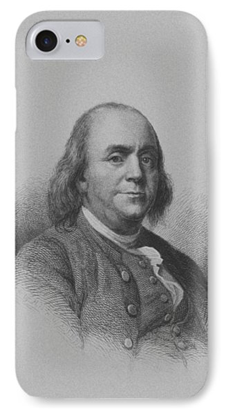 Benjamin Franklin Phone Case by War Is Hell Store