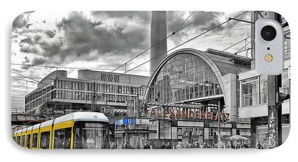 Berlin Alexanderplatz IPhone Case by Joachim G Pinkawa