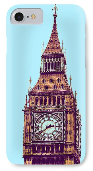 Big Ben Tower, London  IPhone 7 Case by Asar Studios
