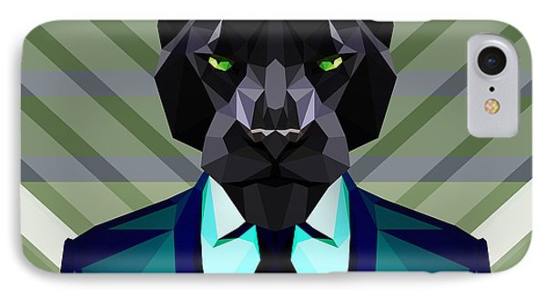 Black Panther IPhone Case