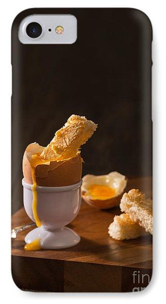 Boiled Egg IPhone Case by Amanda Elwell