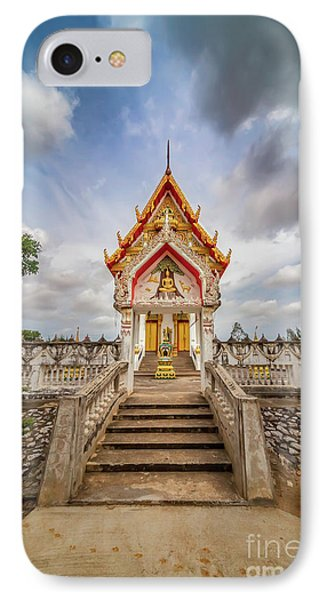 Buddhist Temple IPhone Case by Adrian Evans