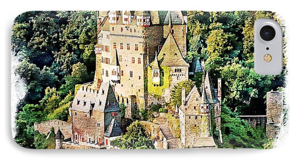 IPhone Case featuring the photograph Burg Eltz - Moselle by Joseph Hendrix