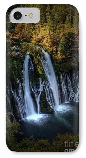 IPhone Case featuring the photograph Burney Falls by Kelly Wade