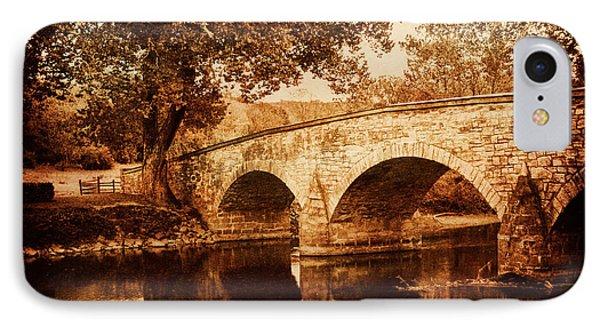 Burnside Bridge Phone Case by Mick Burkey