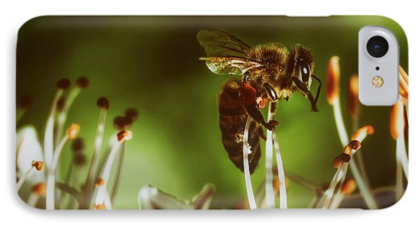 IPhone Case featuring the photograph Bzzz by Michael Siebert