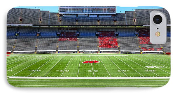 Camp Randall Uw Madison IPhone Case by Chris Smith