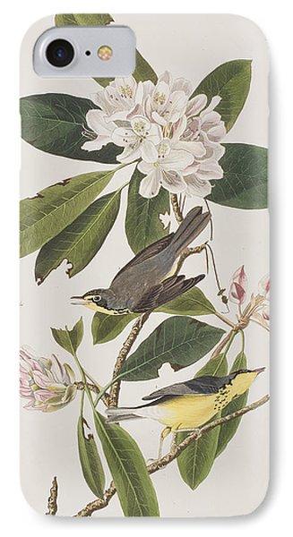 Canada Warbler IPhone 7 Case by John James Audubon