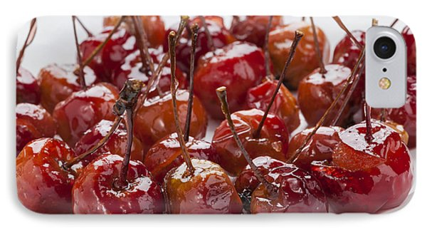 Candied Crab Apples IPhone Case by Elena Elisseeva