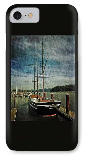 Cape Foulweather Tall Ship IPhone Case by Thom Zehrfeld