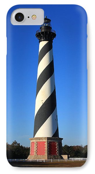 Cape Hatteras Lighthouse IPhone Case by Mountains to the Sea Photo
