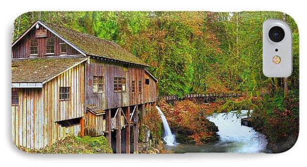 Cedar Creek Grist Mill IPhone Case by Steve Warnstaff