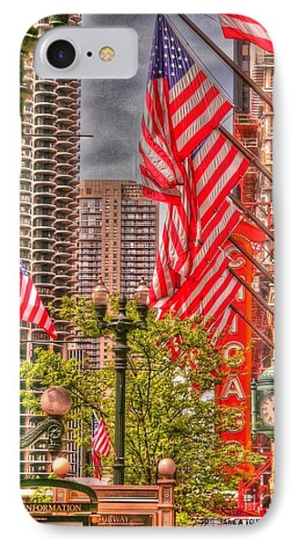 Celebrating Independence IPhone Case by David Bearden