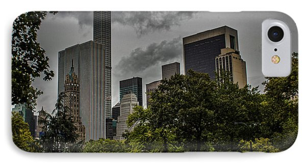 Central Park IPhone Case by Martin Newman
