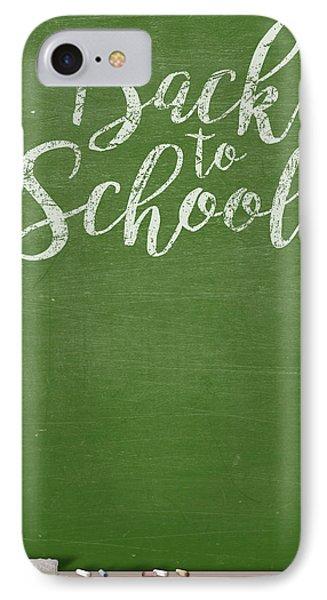 Chalk Board IPhone Case