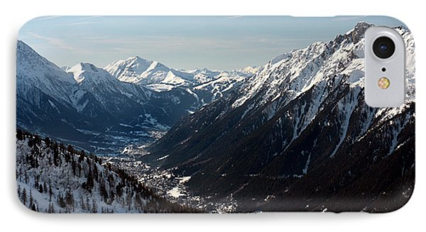 Chamonix Resort In The French Alps Phone Case by Pierre Leclerc Photography