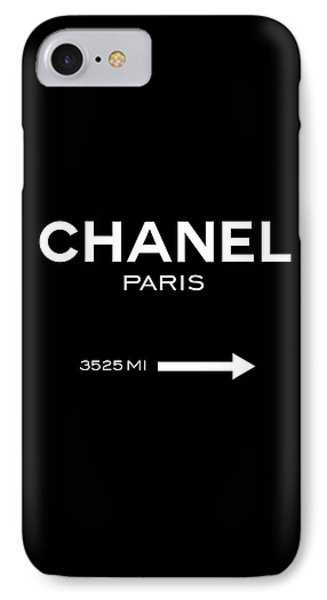 Chanel Paris IPhone Case by Tres Chic
