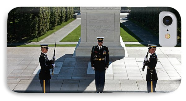 Changing Of Guard At Arlington National Phone Case by Terry Moore