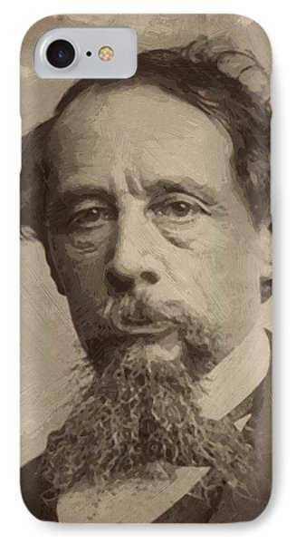 Charles Dickens 1 IPhone Case