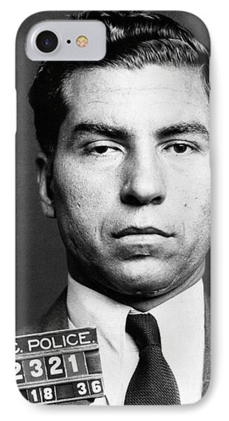 Charles Lucky Luciano Phone Case by Granger