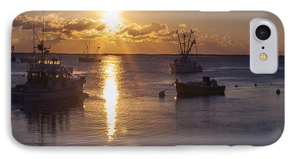 IPhone Case featuring the photograph Chatham Sunrise by Charles Harden