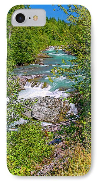 IPhone Case featuring the photograph Cheakamus River by Sharon Talson