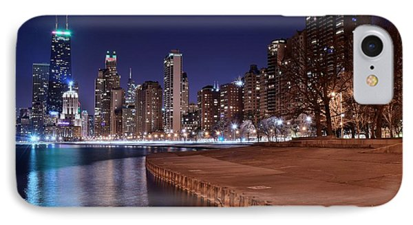 Chicago From The North IPhone Case by Frozen in Time Fine Art Photography