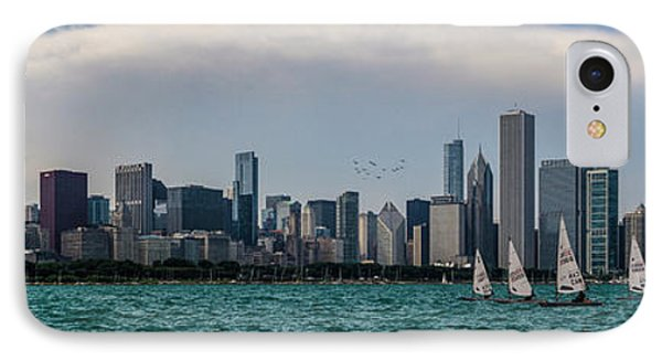 IPhone Case featuring the photograph Chicago Skyline by Joel Witmeyer