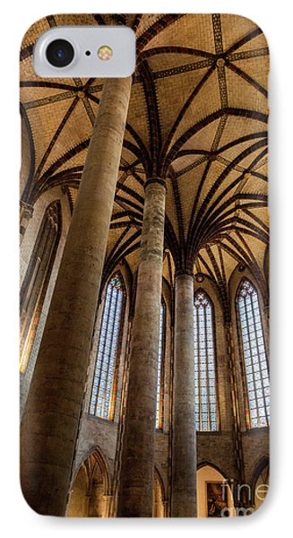 IPhone Case featuring the photograph Church Of The Jacobins Interior by Elena Elisseeva