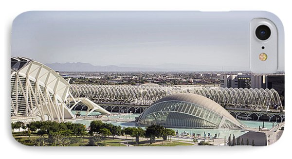 Ciudad De Las Artes Y Ciencias Valencia IPhone Case by For Ninety One Days