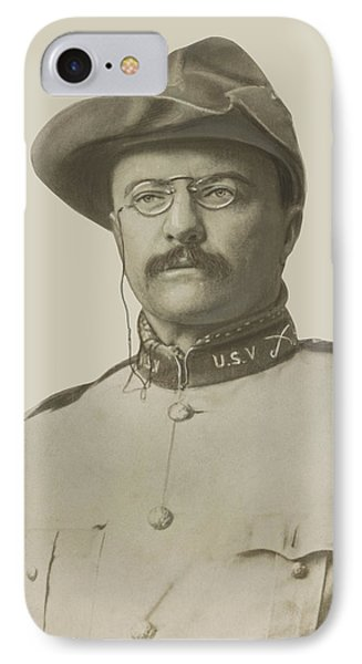 Colonel Theodore Roosevelt Phone Case by War Is Hell Store