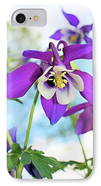 IPhone Case featuring the photograph Columbine by Kristin Elmquist