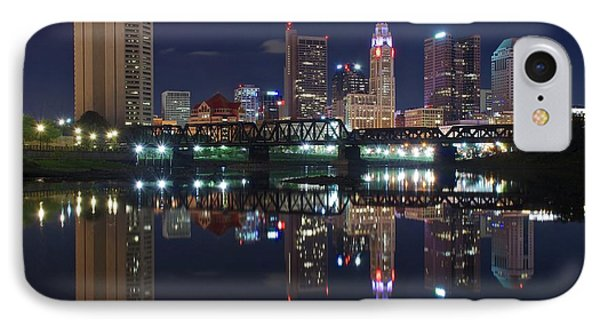 Columbus Ohio IPhone Case by Frozen in Time Fine Art Photography