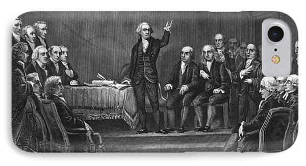 Constitutional Convention IPhone Case by Granger