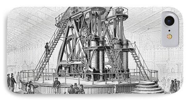 Corliss Steam Engine, 1876 Phone Case by Granger