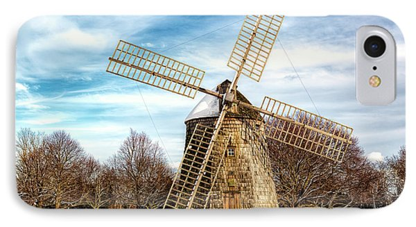 IPhone Case featuring the photograph Corwith Windmill Long Island Ny Cii by Susan Candelario