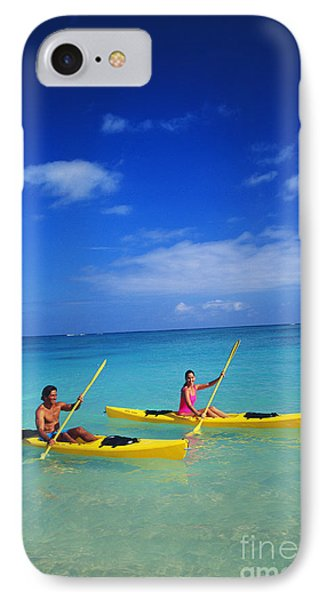 Couple Paddling Phone Case by Kyle Rothenborg - Printscapes