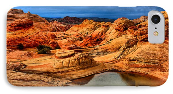 Coyote Buttes Reflections IPhone Case by Adam Jewell