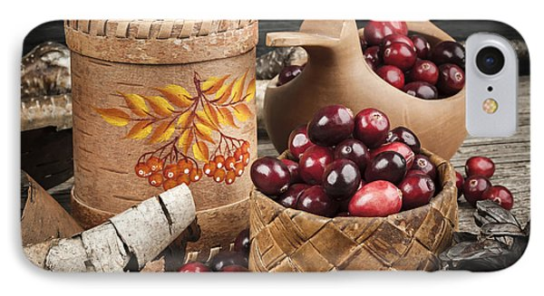 Cranberries Still Life IPhone Case by Elena Elisseeva