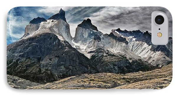 Cuernos Del Paine IPhone Case by Alan Toepfer