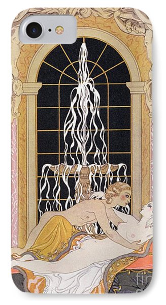 Dangerous Liaisons IPhone Case by Georges Barbier