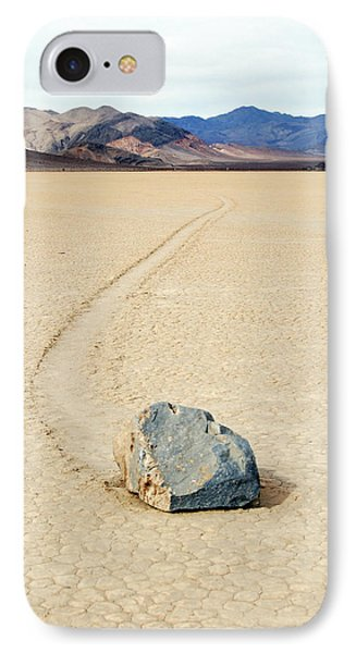 Death Valley Racetrack IPhone Case by Breck Bartholomew