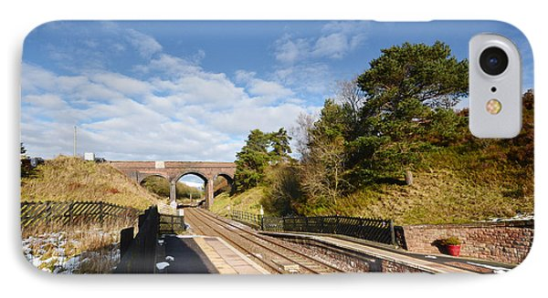 Dent Railway Station IPhone Case by Nichola Denny